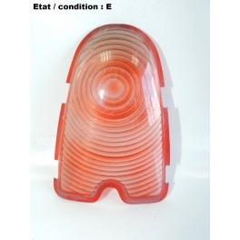 Red taillight lens HARPON 657-6
