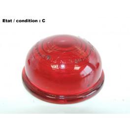 SCINTEX R5 1871/ 2- Lenticular light lens (red, smooth side)