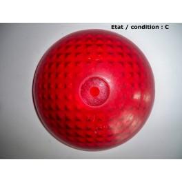 Cabochon feu rouge ML Super 55