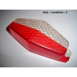 Cabochon feu gabarit cristal rouge OLSA 02202