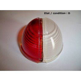 """Red and """"crystal"""" clearance light lens BV"""