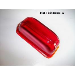 Cabochon feu rouge RKG (verre)