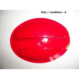 Cabochon feu rouge MARCHAL