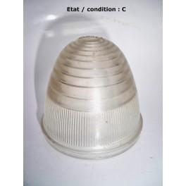 """Cabochon feu cristal """"obus"""" SEIMA 8B (plastique)"""