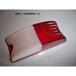 Cabochon feu gabarit blanc/rouge ARA 220