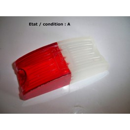 Cabochon feu gabarit rouge/blanc ARA 219
