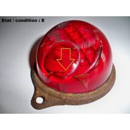 Cabochon feu arrière rouge + éclairage plaque immatriculation HARPON