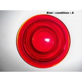 Cabochon feu arrière rouge (verre)