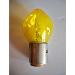 Bulb 6V 45W BA20s yellow