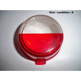 """Red and """"crystal"""" clearance light lens SEIMA 3101"""