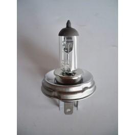 Lampe H4 12V 60/55W sur plot Code Européen (avec trou)