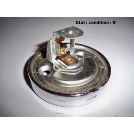 Platine feu ou clignotant chromée MARCHAL (1 fonction)