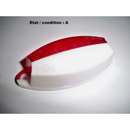Cabochon feu gabarit blanc rouge SCINTEX SANOR 73001 / SEIMA 02070