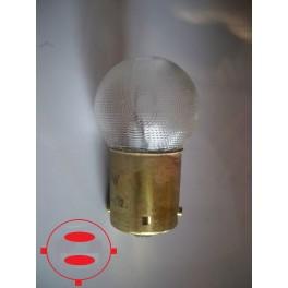 Lampe 6V 18/4W BA15d 3 ergots alignés