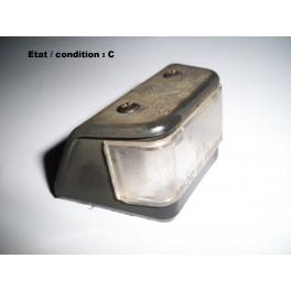 Cabochon feu plaque immatriculation PK 2791