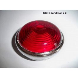 Red taillight lens SEV MARCHAL 11587A