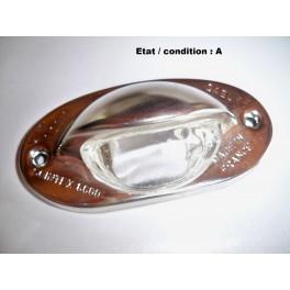 License plate light lens SCINTEX 8600