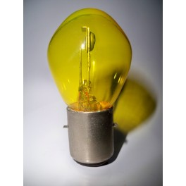 Lampe Code 24V 36/36W BA20d jaune