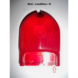 Red taillight lens STARS 1.05.00