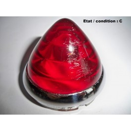 Red taillight lens LABINAL 2332 R