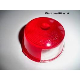 Cabochon feu rouge arrière + éclairage plaque immatriculation MAD