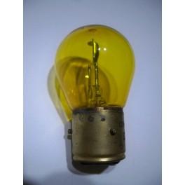 Bulb 6V 18/18W BA21d yellow