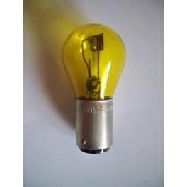 Bulb Code 4,5V 1,6/1,6W (0,35A) BA15d yellow