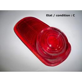 Red upper taillight lens PK 356-B