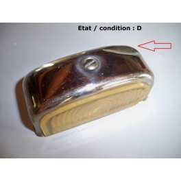 Cabochon feu plaque immatriculation SEIMA 121 (chromé)
