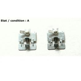 Pair of bulb holders BA15s VIGNAL 000267