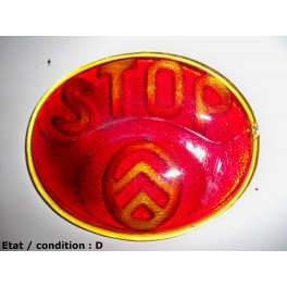 """Taillight lens """"STOP"""" (glass)"""
