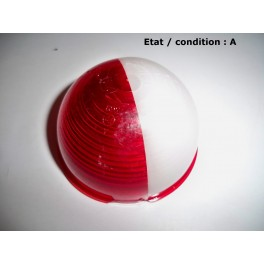 Red and white clearence light lens ARA 421