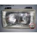 Right headlight H4 SIEM 14270 (left hand traffic)