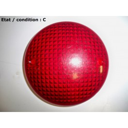 Red taillight lens