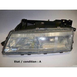 Left headlight H1 + H1 VALEO 085617 (yellow)