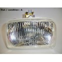 Right headlight H4 + H1 LUCAS LBX172