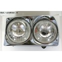 Left complete double headlight H4 + H1 CIBIE