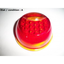 Taillight + licence plate light lens (glass)
