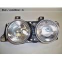 Left twin headlight TYC 20-5289