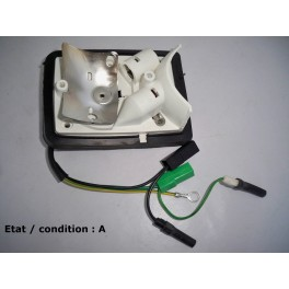 Left licence plate light and rear foglight bulb holder SEIMA 40300