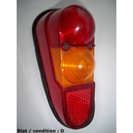 Cabochon feu arrière gauche LMP 3674-51315