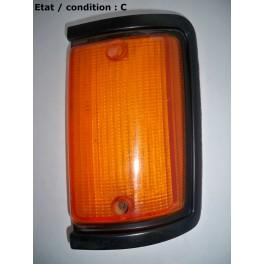 Left front light indicator lens LH