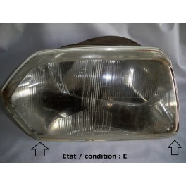 Left headlight European Code Equilux SEV MARCHAL 61272502