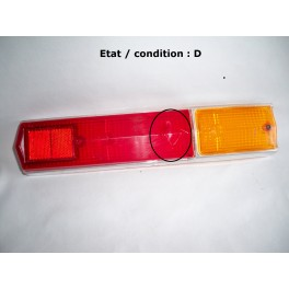 Right taillight lens CIBIE 8076