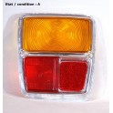 Right taillight lens PV 1048 D