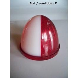 Cabochon feu gabarit blanc rouge SEIMA