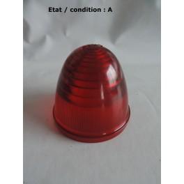"Cabochon feu rouge ""obus"" SEIMA 8R (plastique)"