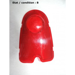 Red taillight lens (plastic)