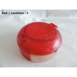 Cabochon feu arrière avec feu plaque immatriculation SEIMA 522 (TPU 494)