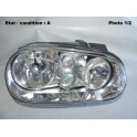 Right headlight H7+H1 VALEO 086750